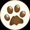 hondenpootje van De Rijdende Trimsalon